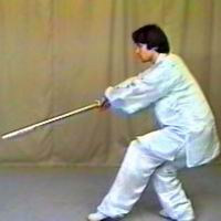 5 Section Taijijian (vol. 3) Solo Sword Form (100030)