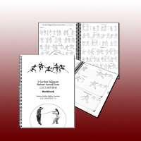 5 Section Taijiquan Partner Sword Form Workbook (400240)