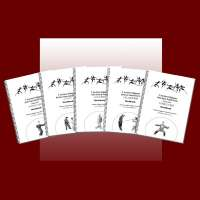 Five 5 Section Taijiquan Workbooks (400260)